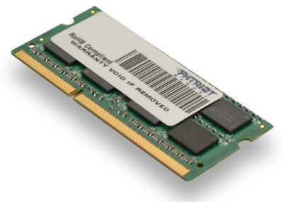 SO-DIMM 8GB DDR3-1333MHz PATRIOT CL9