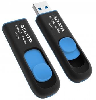 ADATA USB UV128 64GB blue (USB 3.0)