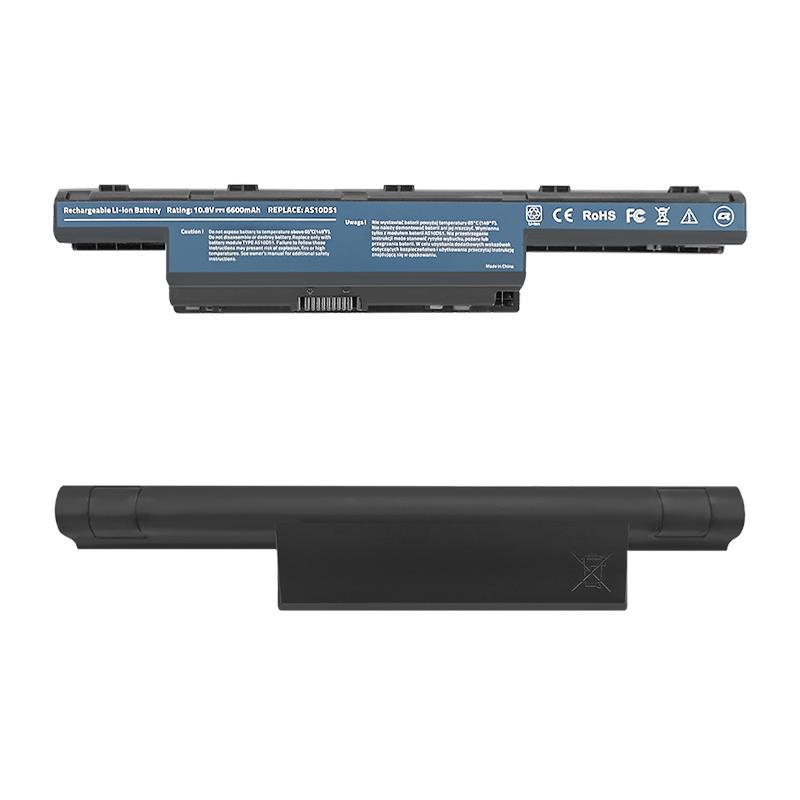 Qoltec Long Life baterie pro notebooky Acer Aspire 4741   10.8-11.1V   6600mAh
