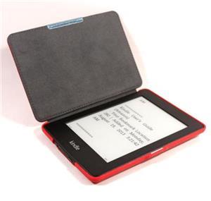 C-TECH PROTECT pouzdro pro Kindle PAPERWHITE s funkcí WAKE/SLEEP, hardcover, AKC-05, červené