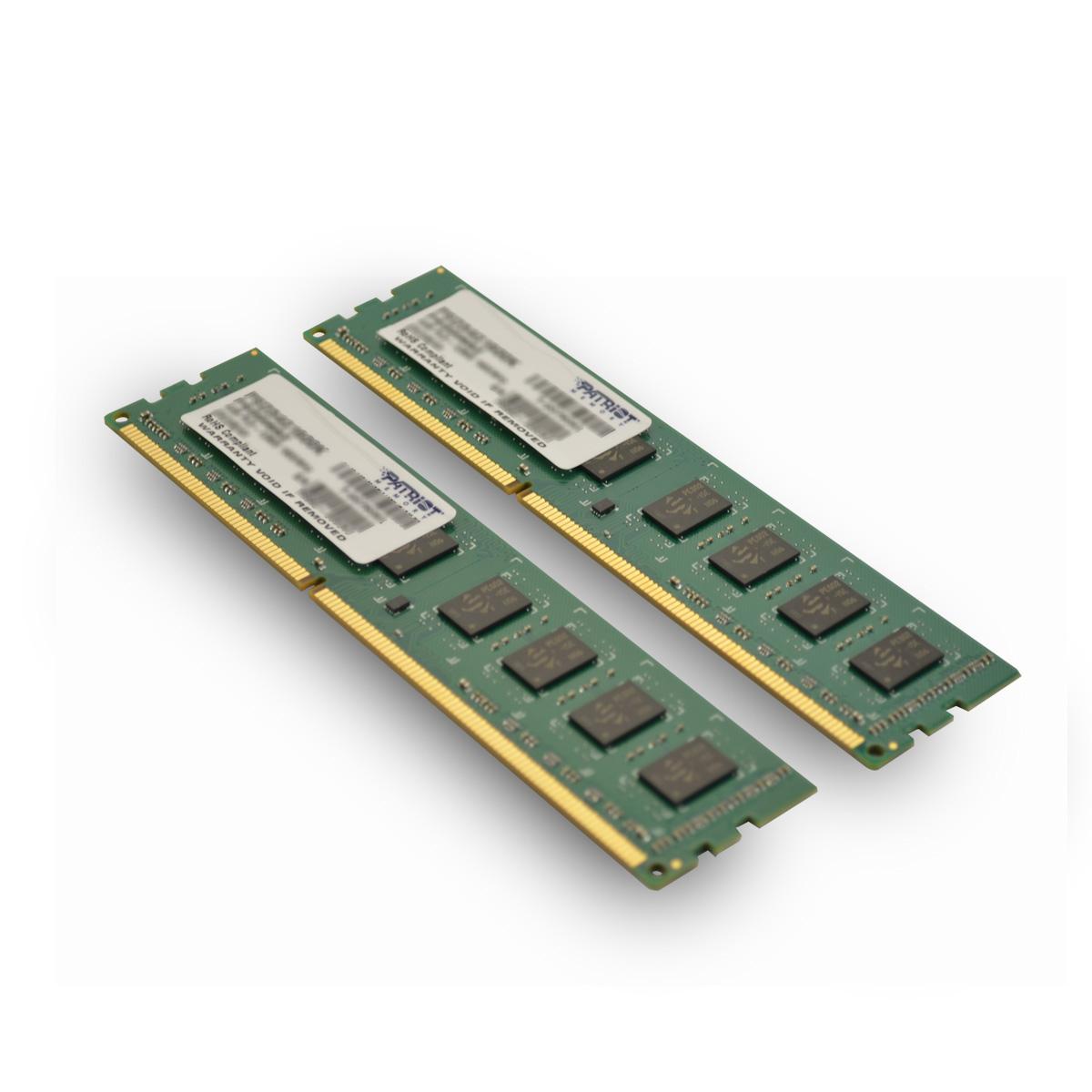 Patriot 8GB (Kit 2x4GB) 1600MHz DDR3 CL11 DIMM