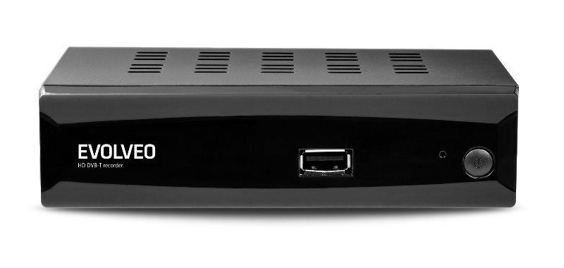 EVOLVEO Alpha HD, HD DVB-T multimediální rekordér, HDMI, Scart, USB, MKV/MOV/MPEG/MP3/WMA/JPEG