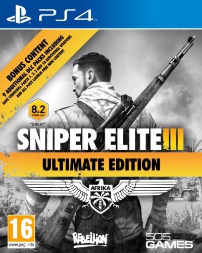 PS4 - Sniper Elite 3 Ultimate Edition