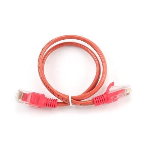 GEMBIRD Eth Patch kabel cat5e UTP 0,25m - červený