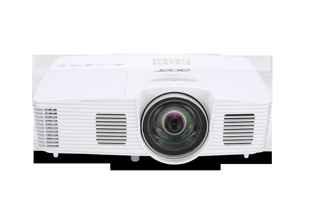 Acer S1383WHne DLP 3D ST Lens, WXGA 1280x800, 3200 ANSI, 13000:1, HDMI(MHL) ,2,8Kg