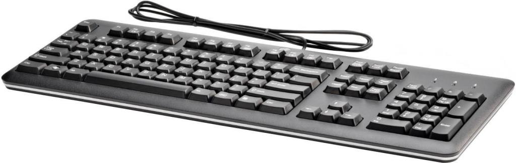 HP klávesnice USB černá anglická