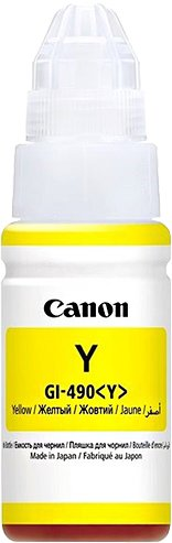 Canon Ink GI-490 Yellow