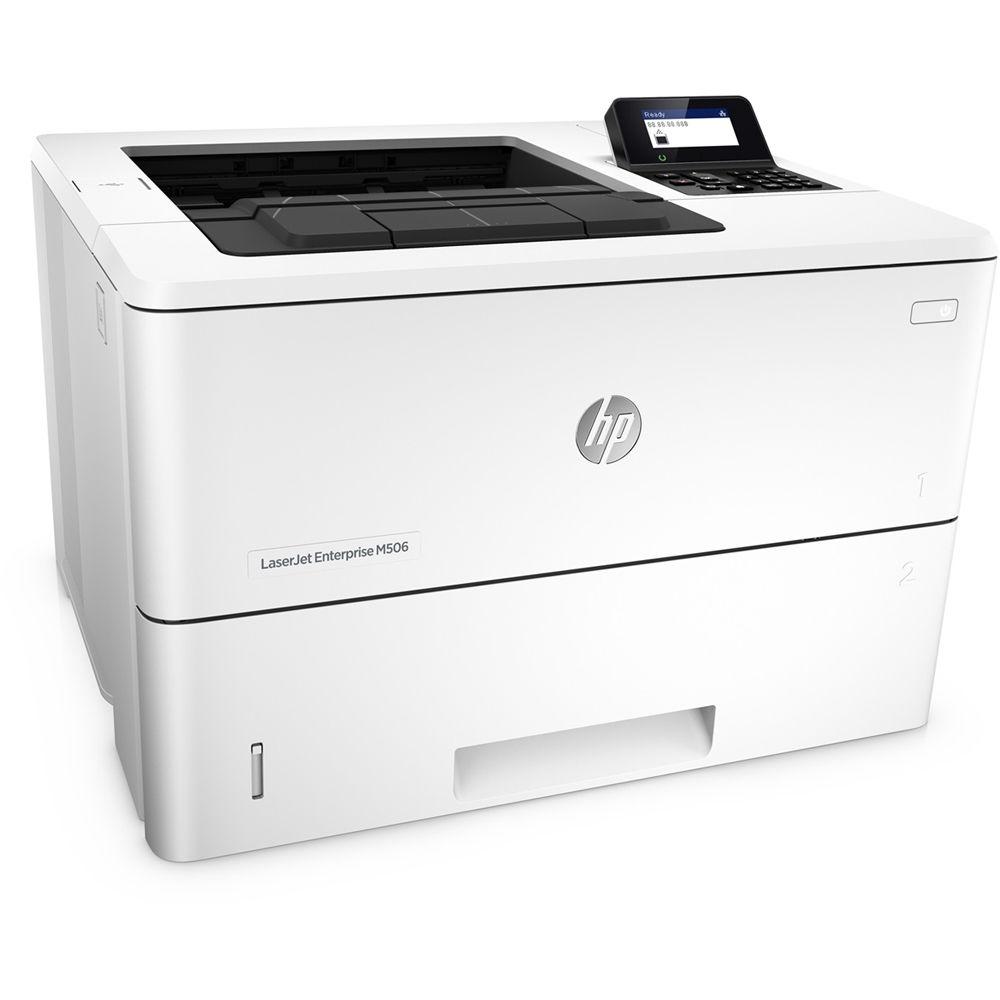 HP LaserJet Enterprise M506dn (43str/min, A4, USB, Ethernet, Duplex)