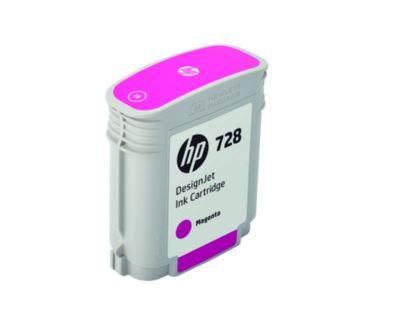HP 728 40-ml Magenta DesignJet Ink Cartridge