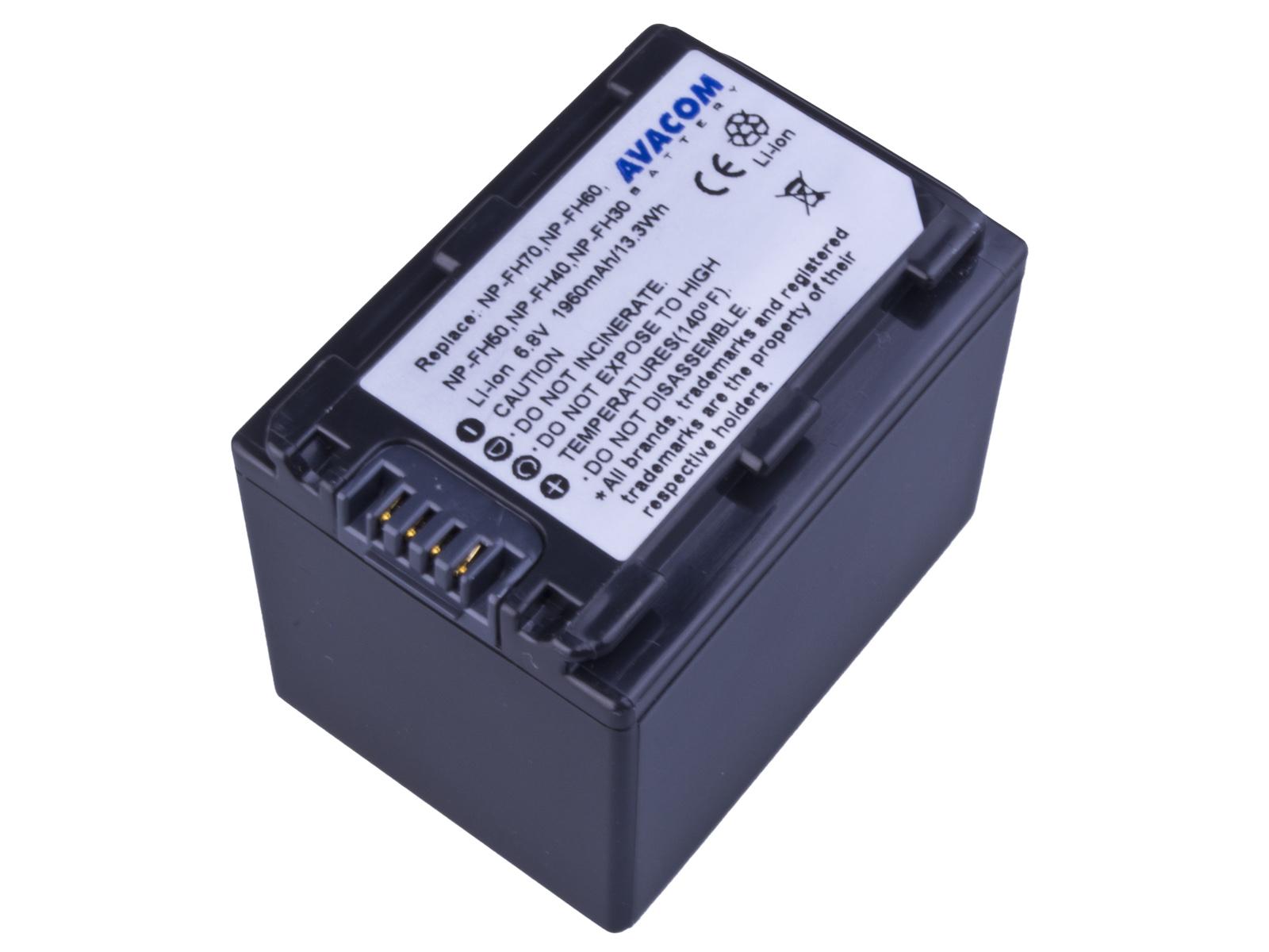 Baterie AVACOM Sony NP-FH70 Li-ion 6.8V 1960mAh