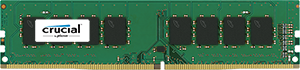 4GB DDR4-2400 MHz Crucial CL17 SRx8