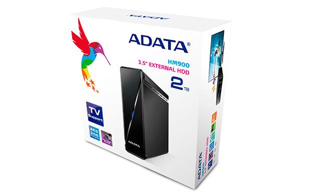 ADATA HM900 externí HDD 2TB, 3.5'', USB 3.0, černý