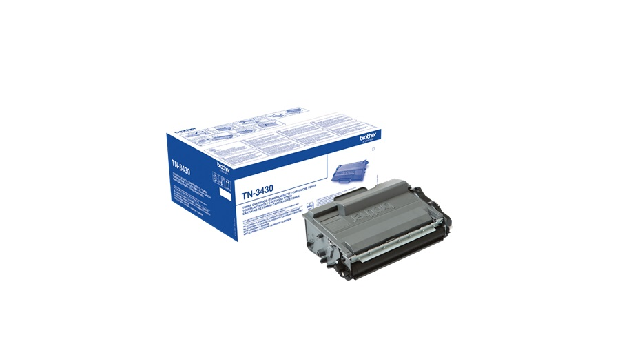 Brother-toner TN-3430 ( HL-L5xxx,HL-L6xxx, DCP/MFC-L5xxx, DCP/MFC-L6xxx,3 000 str. A4)