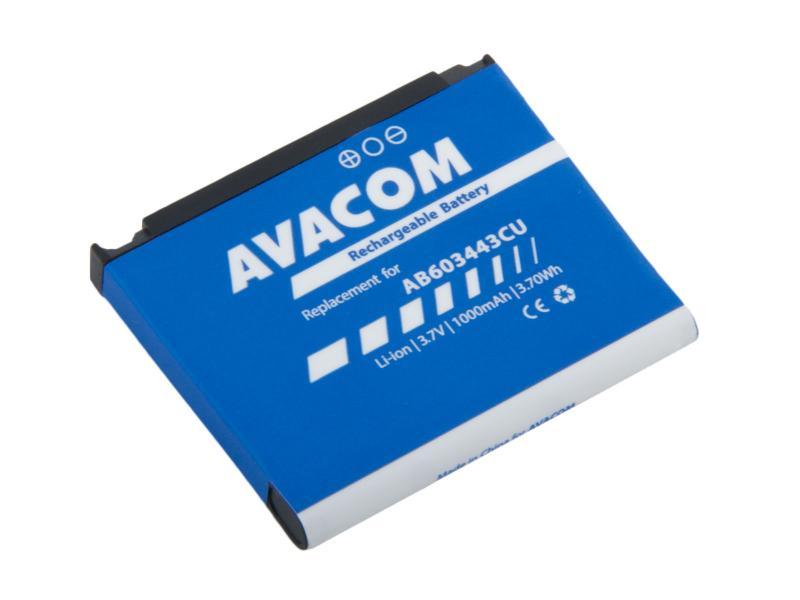 Baterie AVACOM GSSA-G800-S1000 do mobilu Samsung SGH-G800, S5230 Li-Ion 3,7V 1000mAh