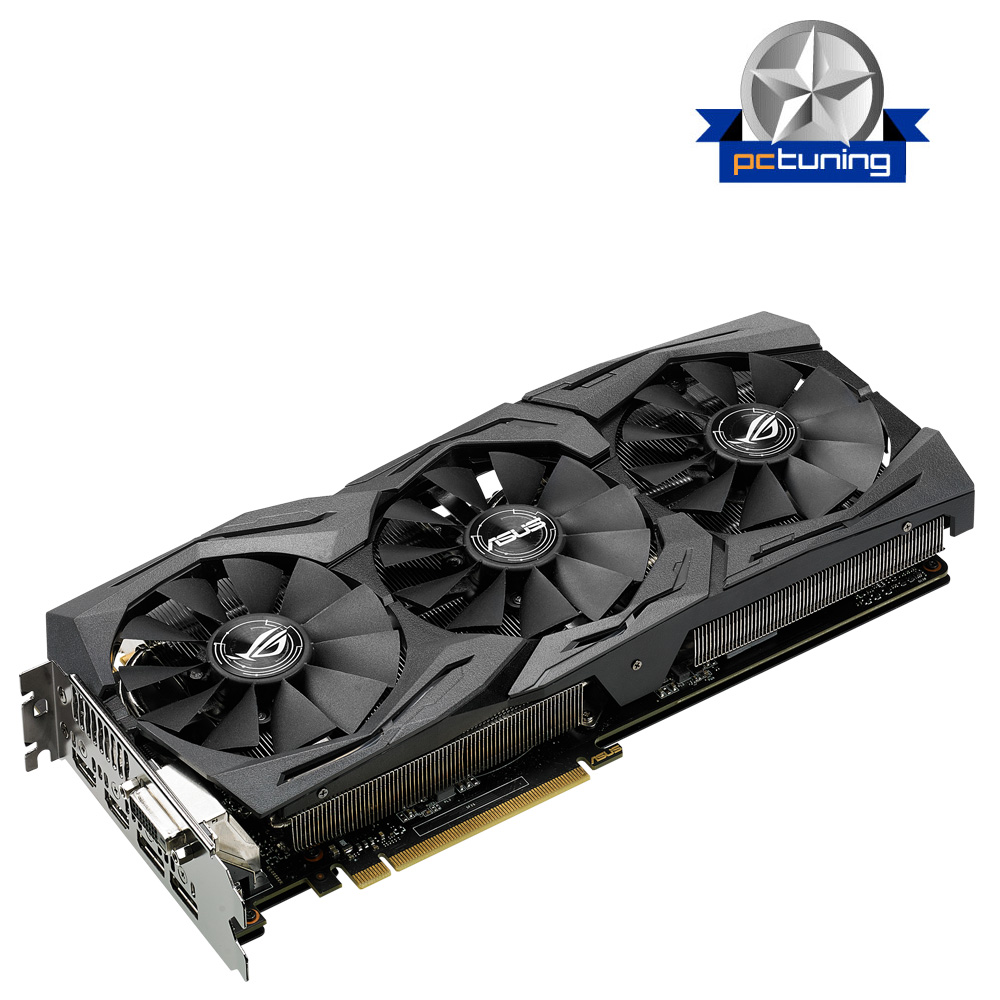 ASUS STRIX-GTX1070-8G-GAMING - 8GB GDDR5 (256 bit), 2x HDMI, DVI, 2x DP, 1683boost clock