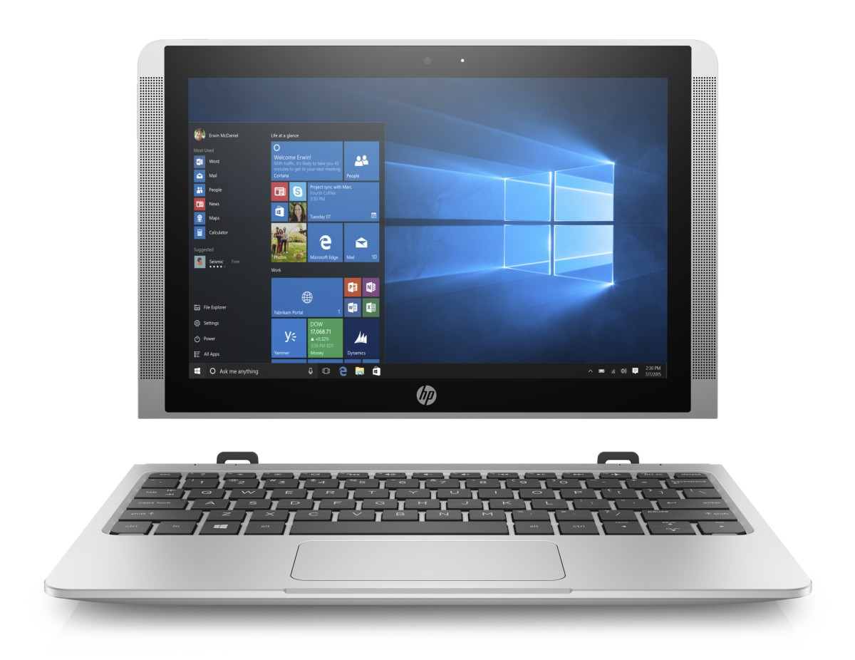 "HP x2 210 G2 X5-Z8350 10.1"" HD (1280x800), 4GB, 64GB, ac, BT, kbd, Win 10 Pro 64"