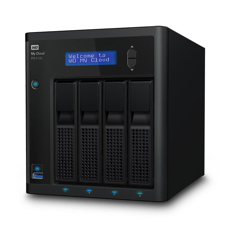 """NAS 3,5"""" WD My Cloud Pro PR4100 8TB NAS LAN"""