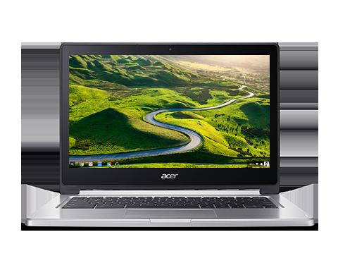 """Acer Chromebook R13 (CB5-312T-K1RC) MTK MT8173/4GB+N/A/eMMC 64GB+N/A/GX6250 GPU/13"""" FHD Multi-touch/Google Chrome/Silver"""