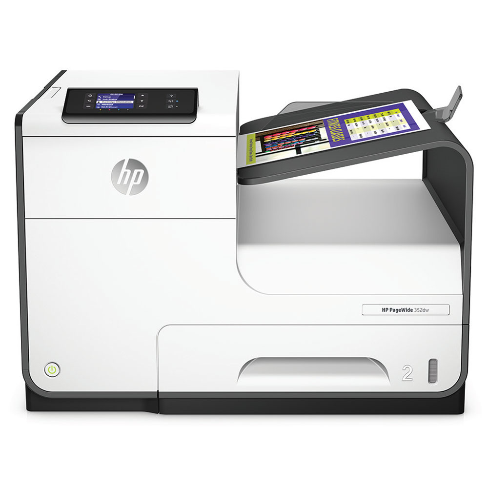 HP PageWide 352dw Printer (A4, 30 ppm, USB 2.0, Ethernet, Wi-Fi)