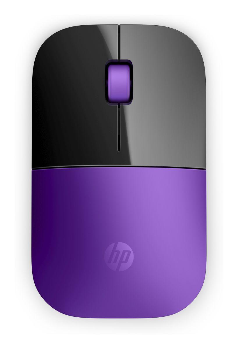 HP myš Z3700 bezdrátová fialová