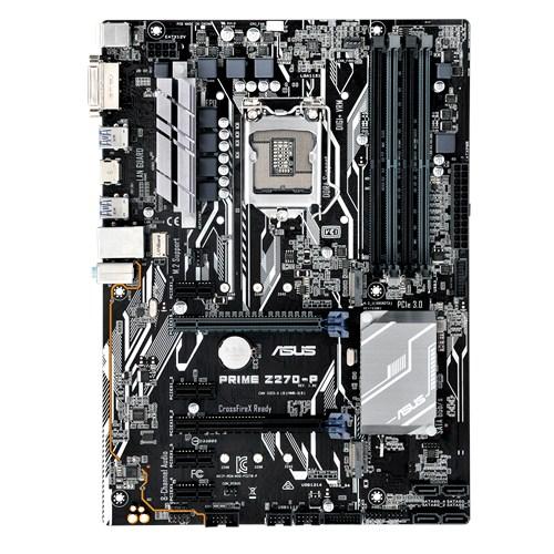 ASUS PRIME Z270-P, s.1151, Z270, DDR4, PCIe 3.0x16, SATAIII, ATX
