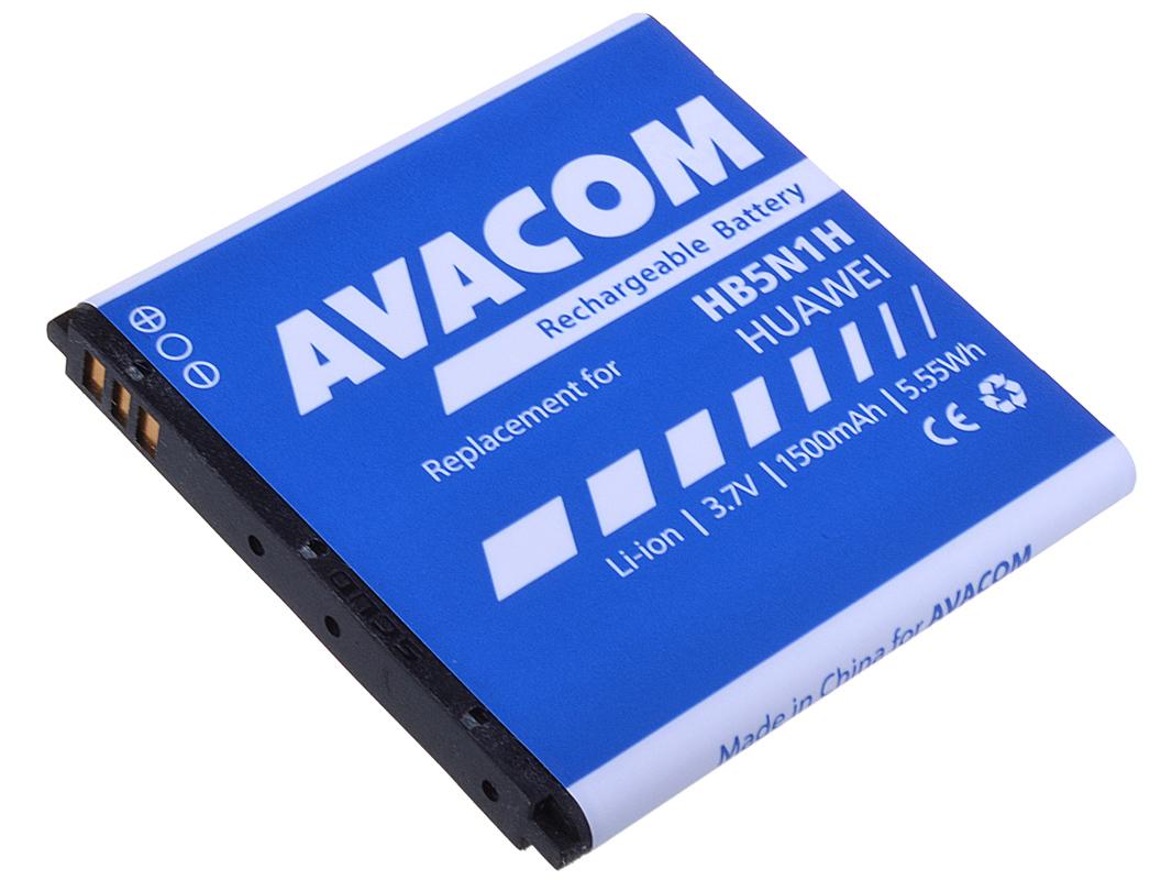 Baterie AVACOM PDHU-G300-S1500A do mobilu Huawei G300 Li-Ion 3,7V 1500mAh (náhrada HB5N1H)