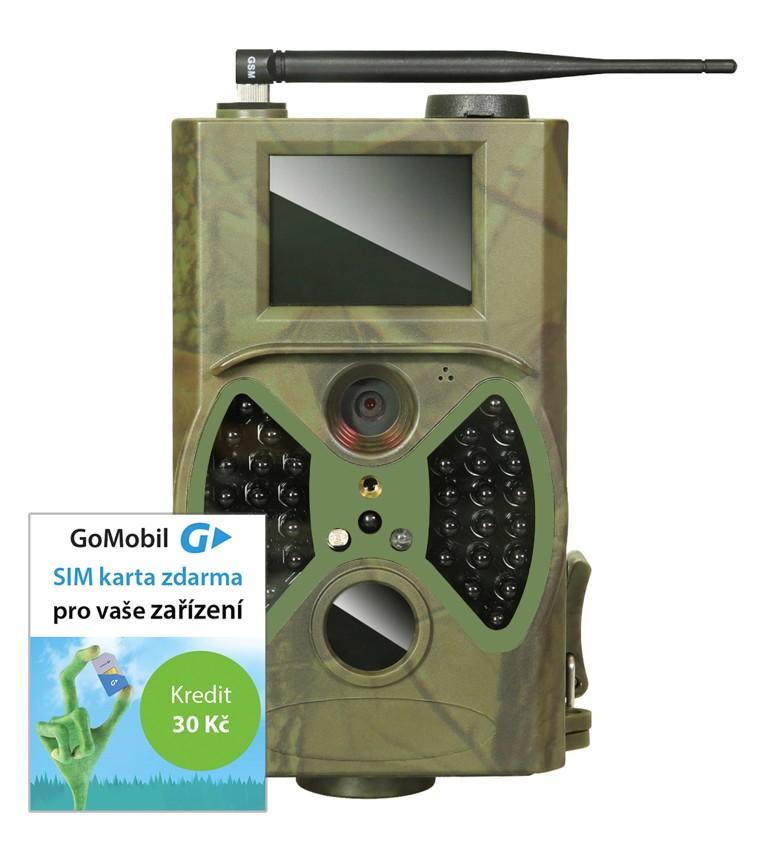 EVOLVEO StrongVision S2,voděodolná outdorová kamera/fotopast/časosběr/MMS/Email + dárek SIM karta kredit 30,-kč