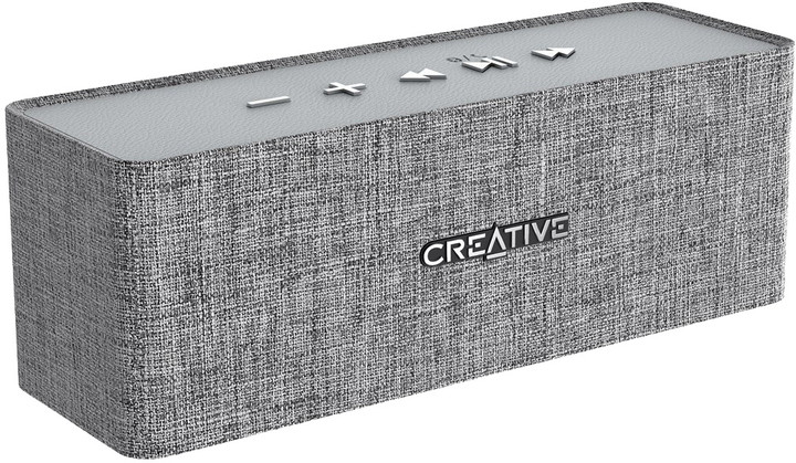Speaker Creative NUNO Bluetooth Wireless Speaker (Grey)