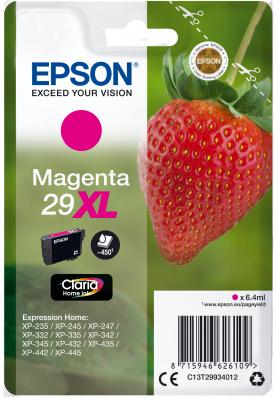 EPSON cartridge T2993 magenta (jahoda) XL
