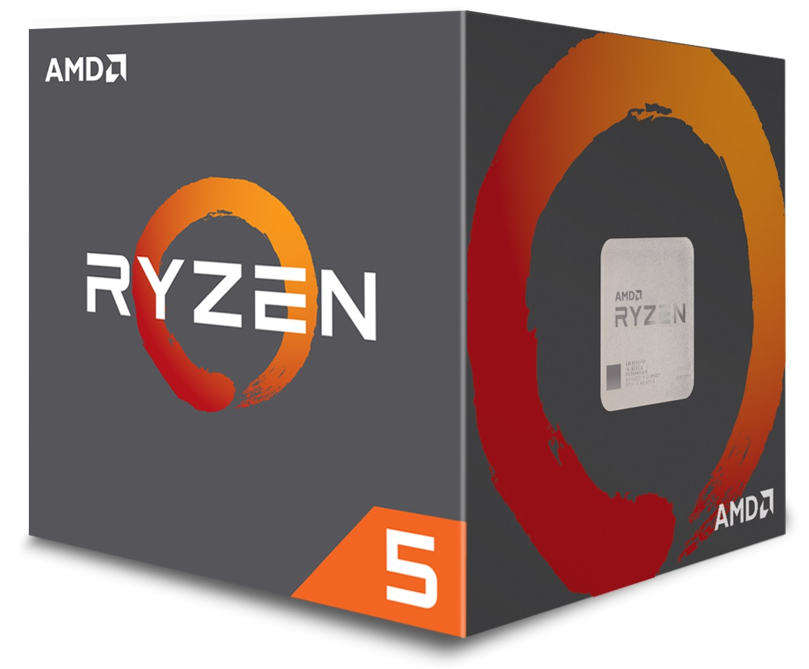 CPU AMD Ryzen 5 1600 6core (3,4GHz) Wraith Spire