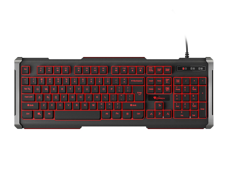 Herní klávesnice Genesis Rhod 400, US, podsvícení