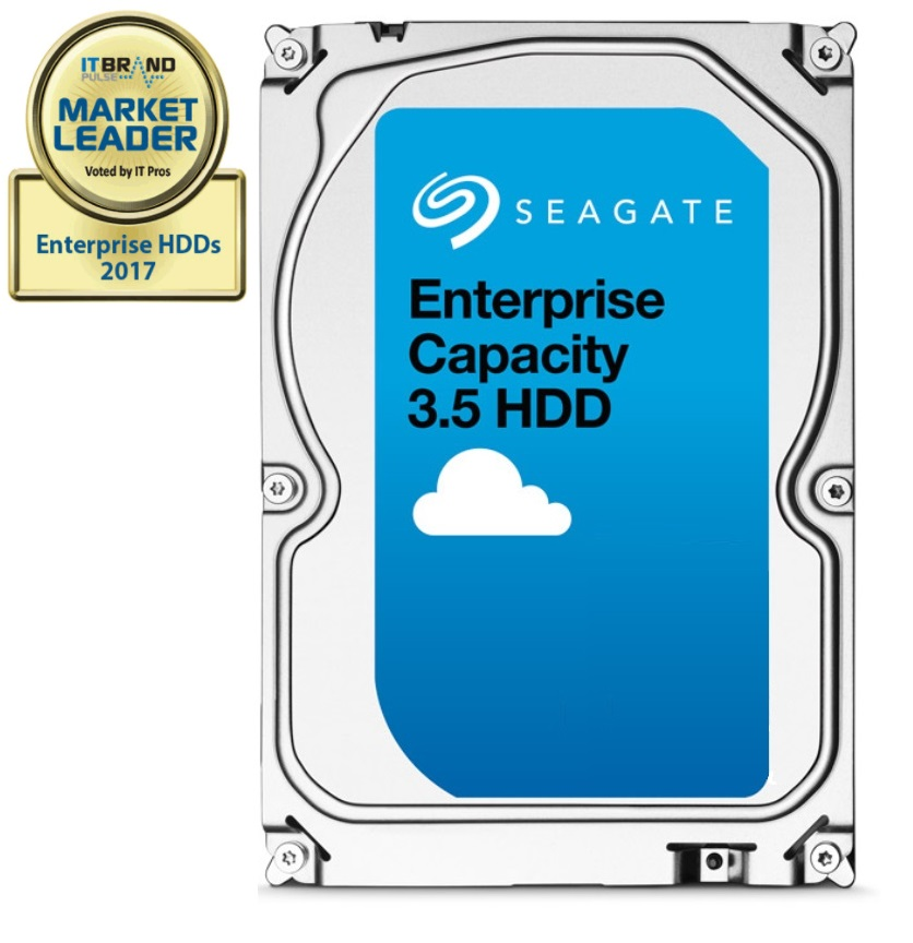 "Seagate Enterprise Capacity HDD, 1TB, 3.5"", SATAIII, 128MB cache, 7.200RPM"