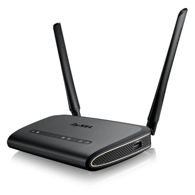 Zyxel NBG6617, Simultaneous Dual-Band MU-MIMO Wireless AC1300 Media Router, 802.11ac (400Mbps/2.4GHz+867Mbps/5GHz), back