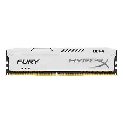 Kingston DDR4 8GB HyperX FURY DIMM 2400MHz CL15 SR x8 bílá