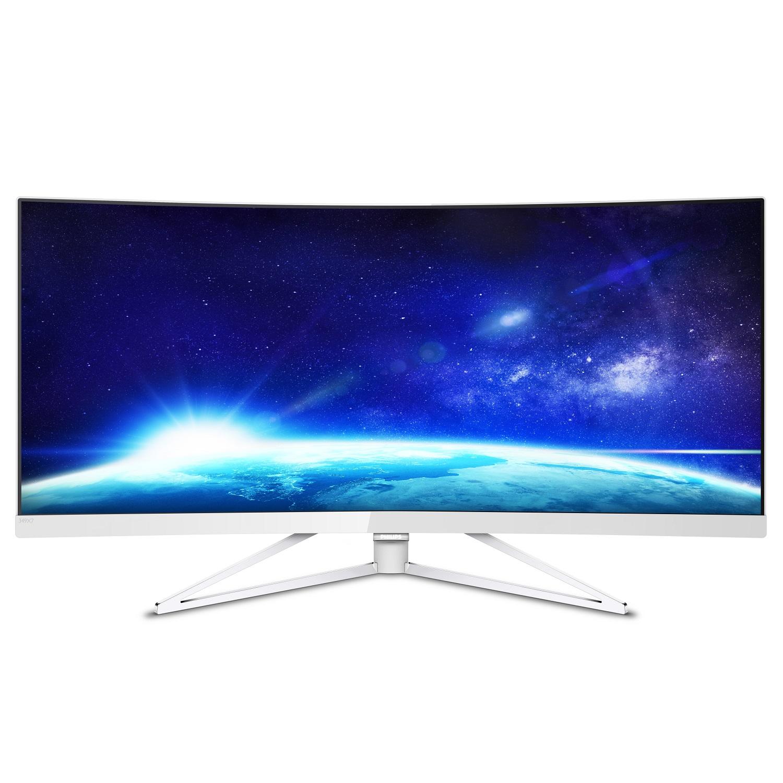 """Philips LCD 349X7FJEW 34"""" zakřivený /3440x1440/4ms/50mil:1/2xHDMI/4xUSB/2xDP/repro/vesa"""