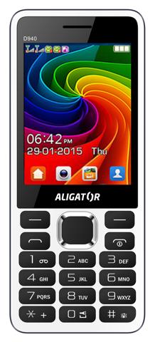 ALIGATOR D940 Dual sim bílý