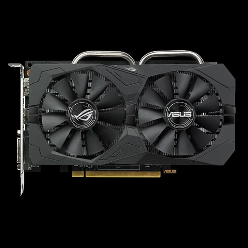 ASUS ROG-STRIX-RX560-O4G-GAMING 4GB GDDR5 (128 bit) ,HDMI, DVI, DP
