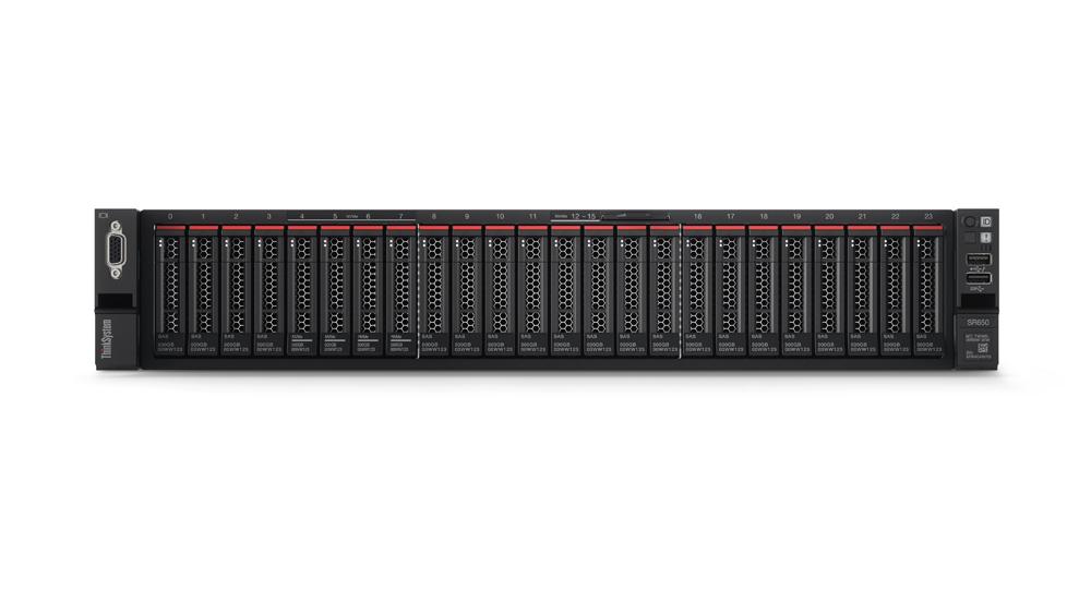 """Lenovo ThinkSystem SR650 1x Silver 4110 8C 2.1GHz 85W/1x16GB/0GB 2,5""""(8)/930-8i(2GB f)/XCC-E/750W"""