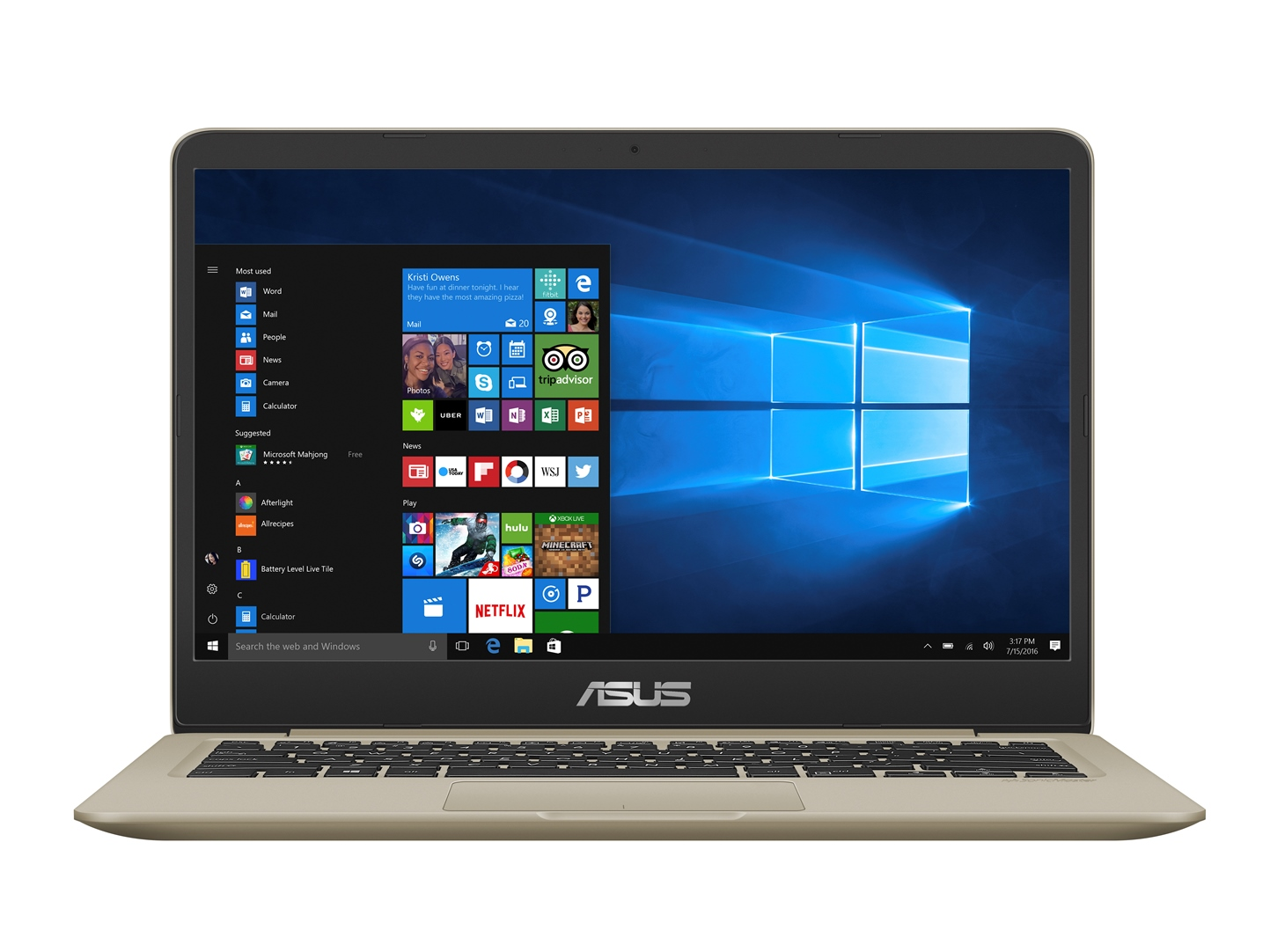 "ASUS S410UQ-EB047T i5-8250U/4G/256G SSD SATA3/GT940MX 2G/14"" TN/FHD/W10/Gold"