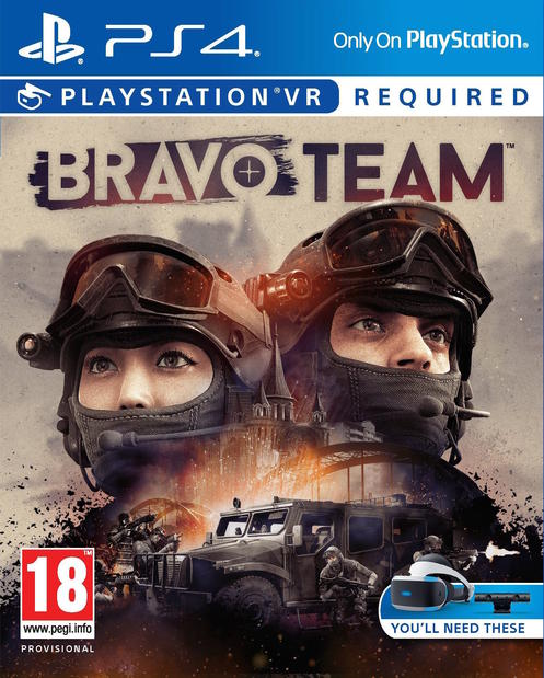 SONY PS4 hra Bravo Team VR