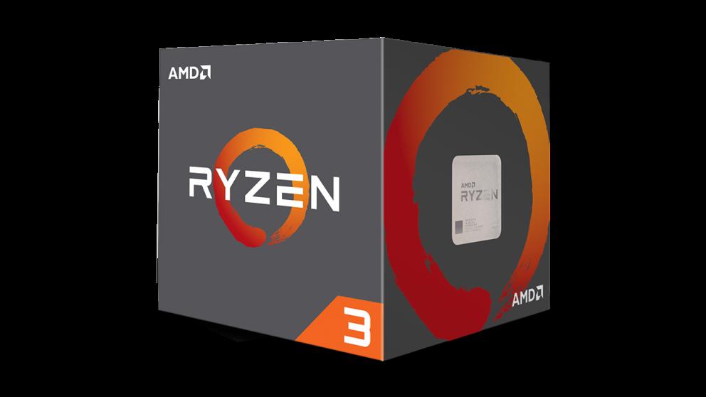 AMD cpu Ryzen 3 1300X Box AM4 (4core, 4x vlákno, 3,5GHz / 3,7GHz, 10MB cache, 65W ) s chladičem Wraith Stealth