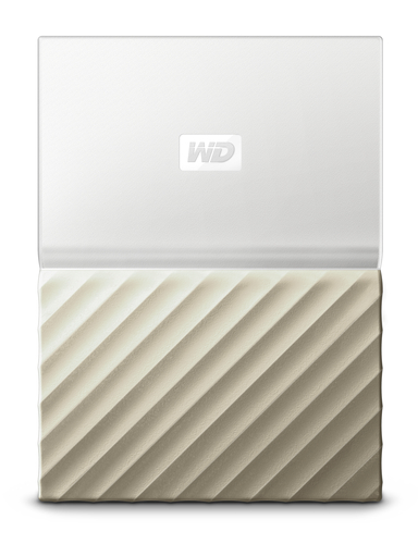 "WD My Passport ULTRA 2TB Ext. 2.5"" USB3.0 White/Gold"