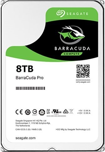 HDD 8TB Seagate BarraCuda Pro 256MB SATAIII 7200r