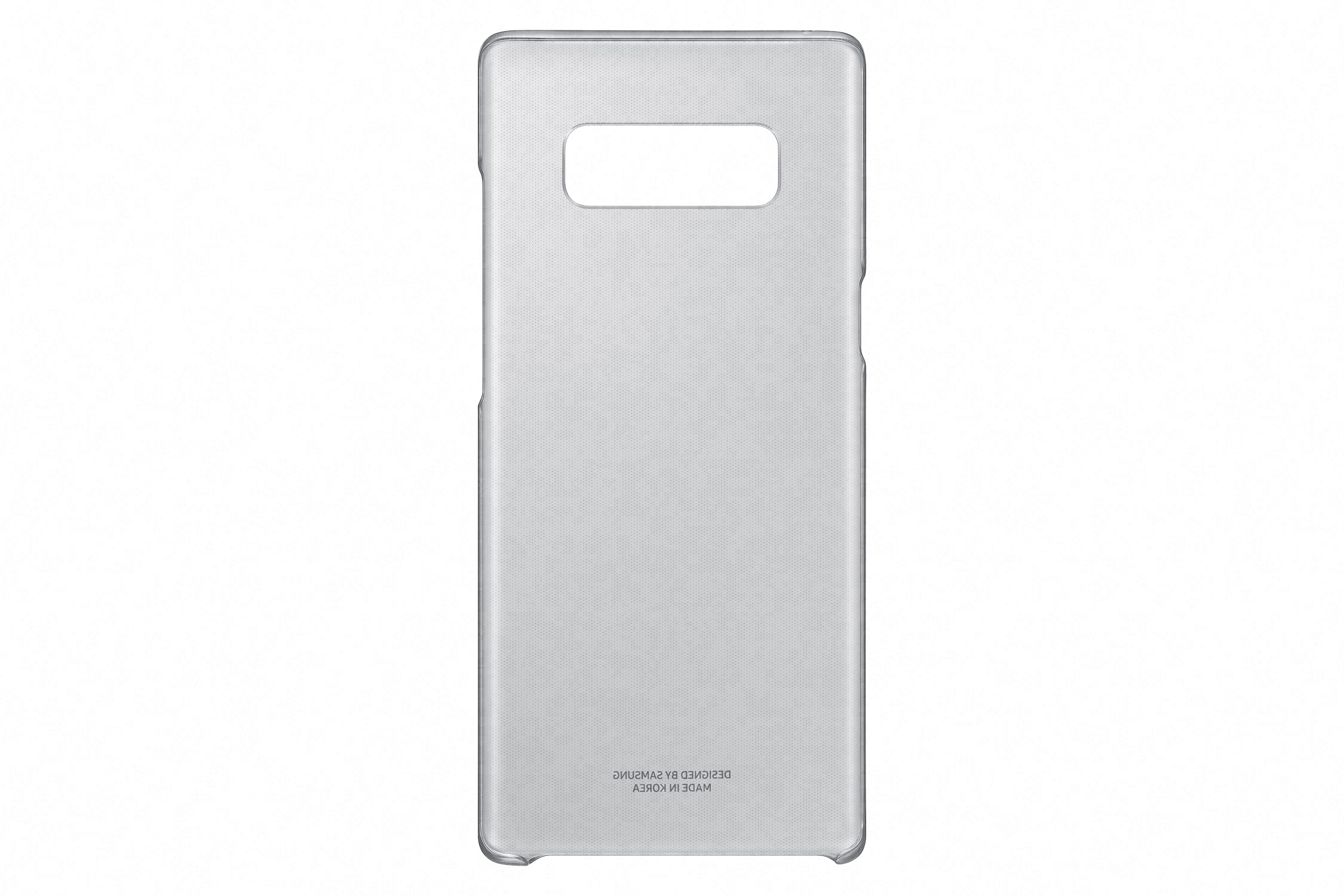 Samsung Clear Cover pro NOTE 8 Black