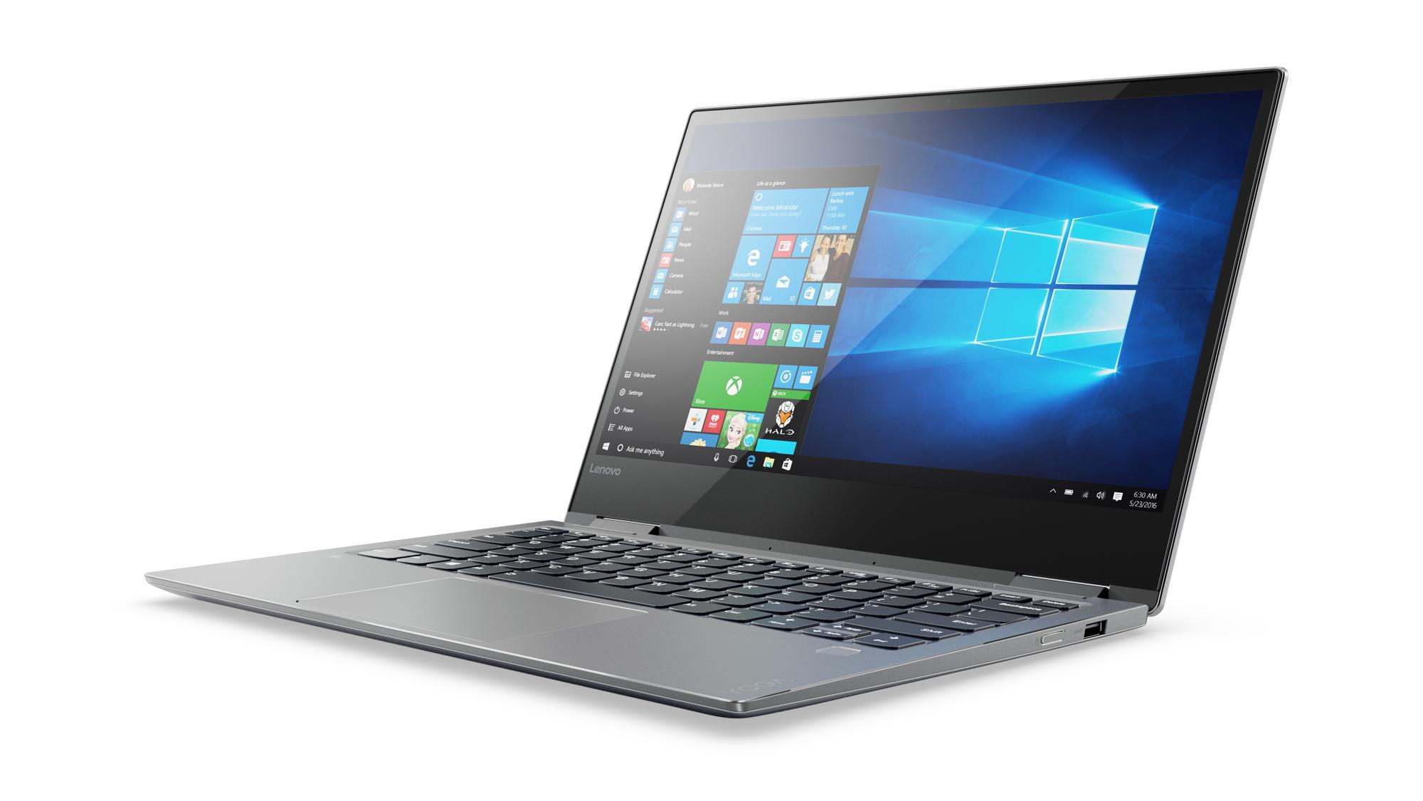 "Lenovo YOGA 720-13IKB i5-7200U 3,10GHz/8GB/SSD 256GB/13,3"" FHD/IPS/AG/multitouch/WIN10 šedá 80X6006SCK"