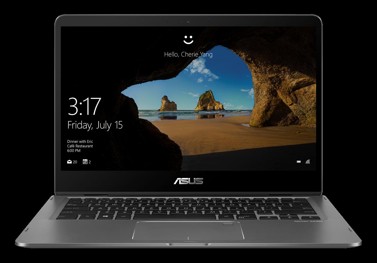 "ASUS UX461UA-E1010T i5-8250U/8GB/256GB M.2 SSD/UHD Graphics 620/14"" FHD Touchh IPS lesklý/W10 Home/Gray"