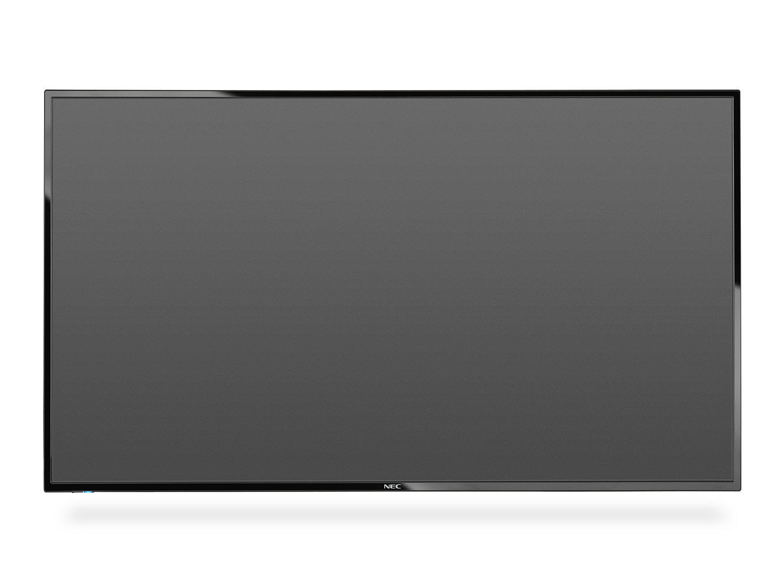 "NEC 55"" velkoformátový display E556 - 12/7, 1920x1080, 350cd, media player, bez stojanu"