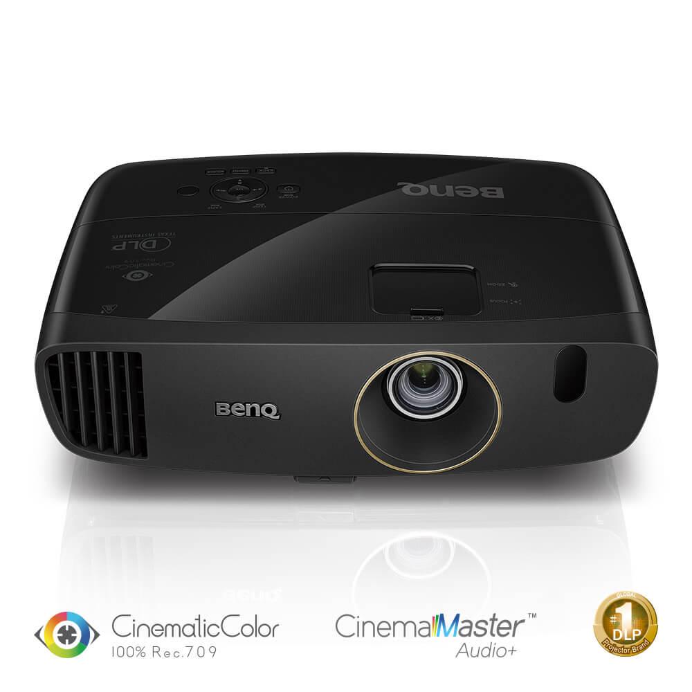 BenQ DLP Projektor W2000+ 1920x1080 Full HD/2200 ANSI lm/15 000:1/D-SUB/3xHDMI/MHL/2x10W Repro