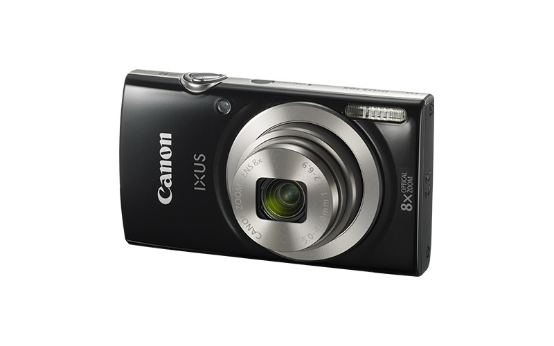 Canon IXUS 185 BLACK , Essential KIT (+neopren.pouzdro)