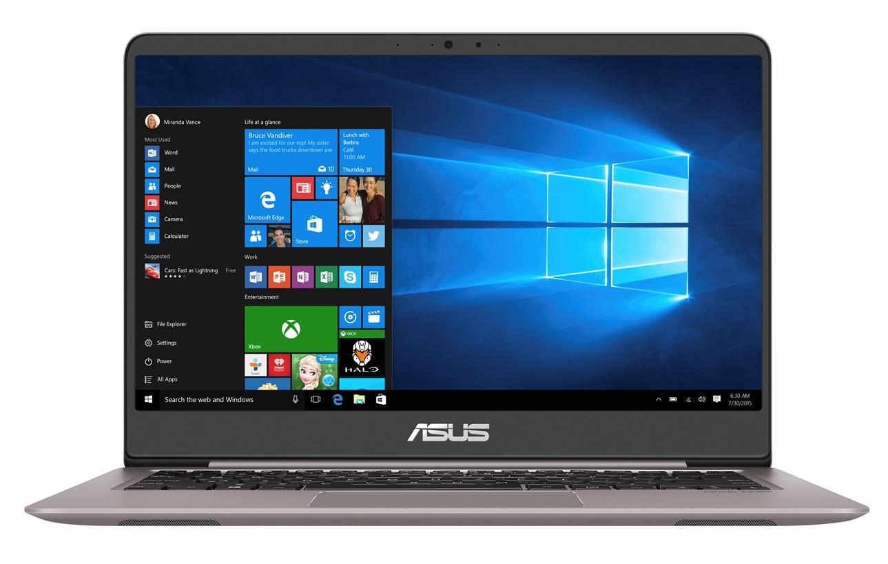 """ASUS UX410UA-GV428T Core i5-8250U/4GB/128GB SSD SATA3/Intel UHD Graphics 620/14"""" IPS 1920x1080 FHD/Matný/BT/W10 Home/Grey"""